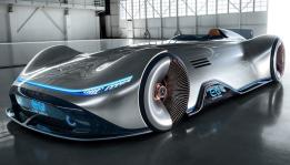 Mercedes Benz Perkenalkan EQ Silver Arrow electric concept